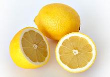 Citron au frigo