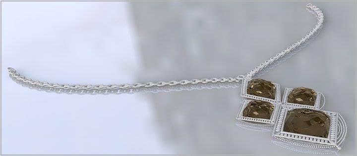 Les noeuds d'un collier